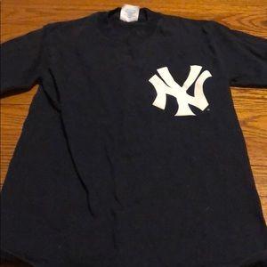 Derek Jeter New York Yankees Jersey T Shirt #2
